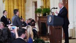 Son accréditation retirée, CNN attaque Donald Trump en