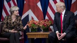 Trump s'en prend à la mauvaise Theresa May sur