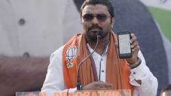 Babul Supriyo Threatened To Break A Man's Legs At An Event ... For The