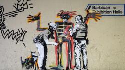 Londres amaneció el fin de semana con dos nuevos grafitis de