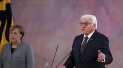 Le président allemand appelle au compromis et repousse des élections anticipées dans