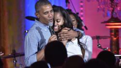 La reazione di Obama alla partenza della figlia per il college è quella che avrebbe avuto qualsiasi