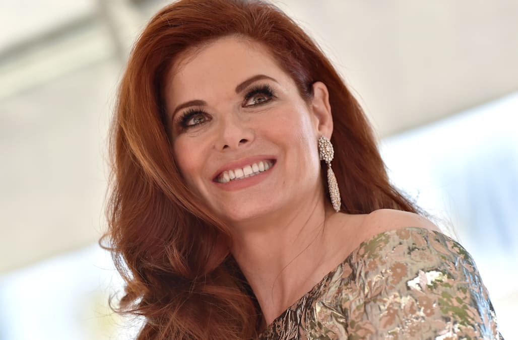 c16383b9fdb8 Debra Messing reveals how those impossibly timely jokes happen on 'Will &  Grace'