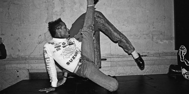 Dancers voguing at nightclub Mars in 1988 in New York City, New York.