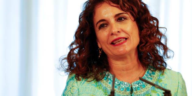 La ministra Montero, el pasado 7 de junio, en su toma de posesión.