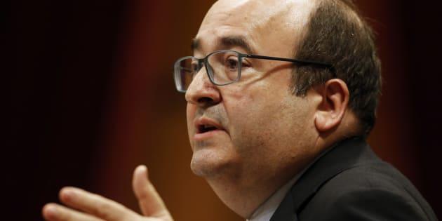 Miquel Iceta, primer secretario del PSC.