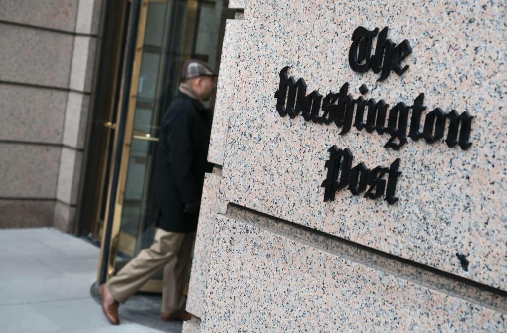 Trump names 'Fake News Washington Post' as newest target in war