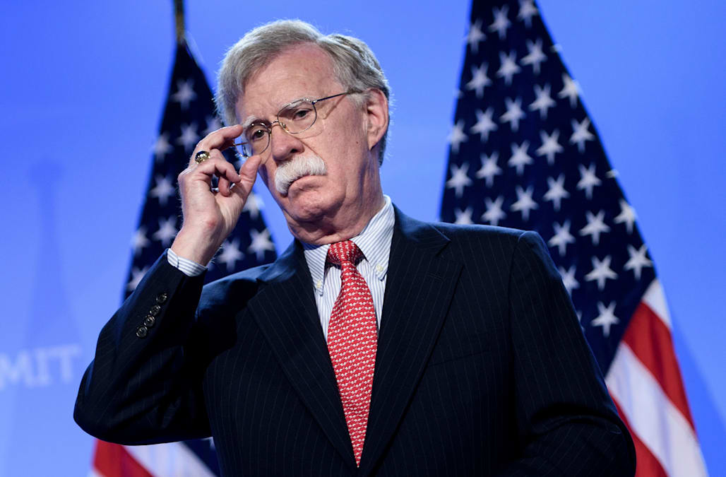 Image result for photos of  US National Security Advisor John Bolton