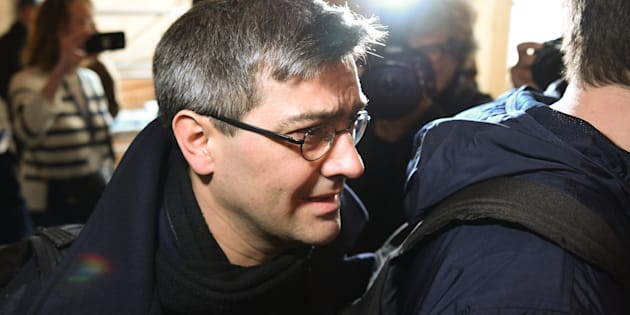 Julien Coupat, soupçonné d'être le meneur du