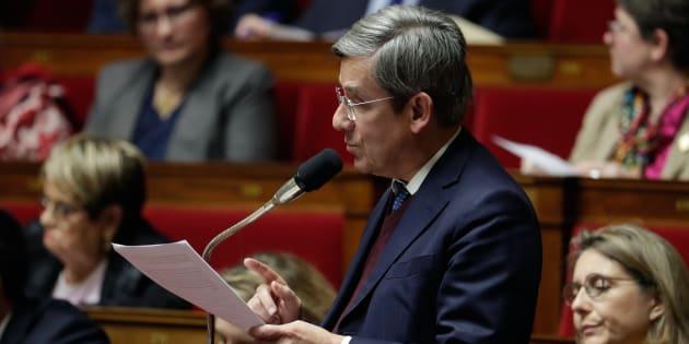 """Vivement opposé à la loi anti-casseurs, le député centriste Charles de Courson redoute """"la tentation autoritaire"""" d'Emmanuel Macron."""