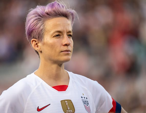 Megan Rapinoe says her dad voted for Trump