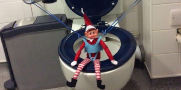 Alfie, l'elfe en fauteuil roulant qui dénonce les lieux publics inaccessibles.