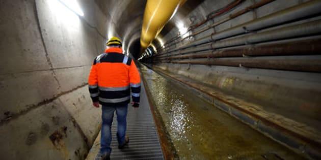 Uno dei tunnel della Tav a Chiomonte, Piemonte. Foto del 19 novembre 2018.  REUTERS/Massimo Pinca