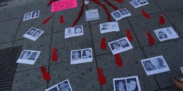 Coahuila se ubica en el octavo lugar nacional en casos de personas desaparecidas, según las cifras del Secretariado Ejecutivo. REUTERS/Daniel Becerril