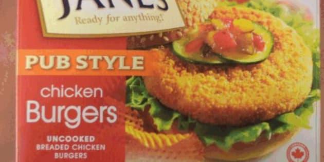 Janes Breaded Chicken Burgers, Cutlettes Recalled Over Salmonella Concerns
