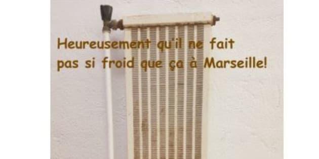 Un calendrier illustre la vétusté dans un groupe scolaire à Marseille pour alerter les élus locaux