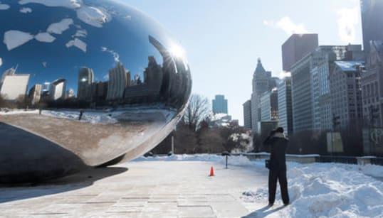 Deep Freeze Envelops Midwest, Even Stops The
