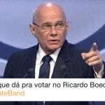 'Perdeu, playboy': Sem VAR, Boechat chama mais atenção que presidenciáveis em