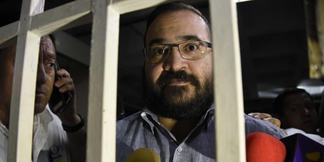 Javier Duarte fue vinculado a proceso por peculado, tráfico de influencias e incumplimiento de un deber legal / AFP PHOTO / Johan ORDONEZ