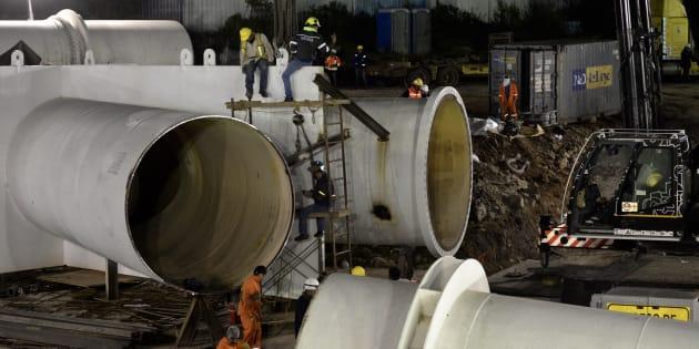 Los labores de mantenimiento en el Sistema Cutzamala son para trabajar en la torre de oscilación e instalar unas piezas que pesan casi 180 toneladas.