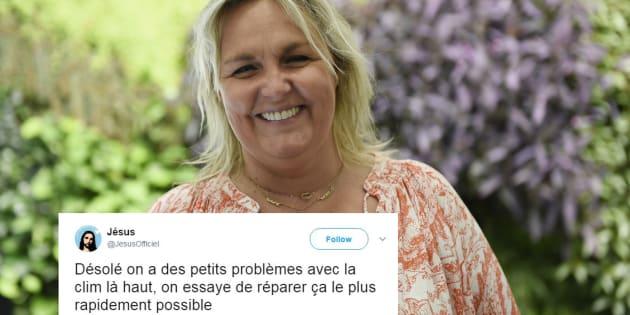 Valerie Damidot discute avec Jésus sur Twitter