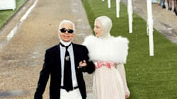 A Look Back At Designer Karl Lagerfeld's Iconic Fashion Career In