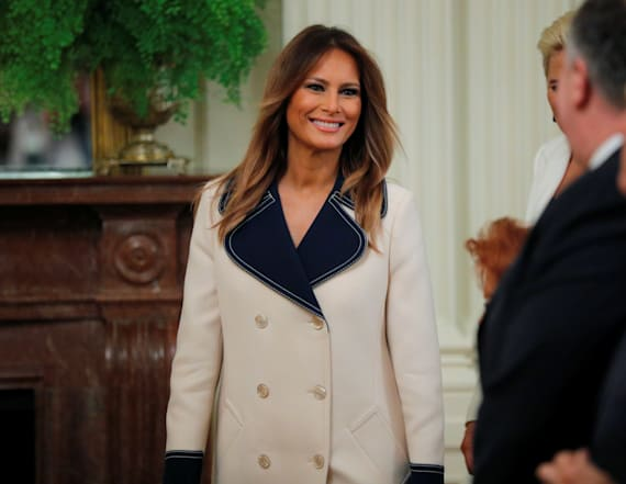 Twitter goes after Melania's $4000 Gucci coat