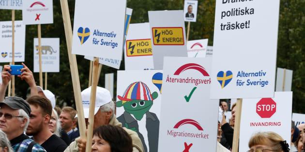 La stratégie de l'extrême droite pour séduire de plus en plus de Suédois.