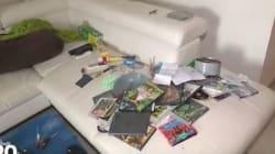 Les images de l'appartement d'un des suspects terroristes de