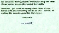 Cette lettre de JFK enfonce Trump et sa gaffe sur le Père