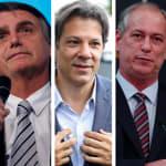 Bolsonaro tem 28%; Haddad, 22%; Ciro, 11%; Alckmin, 8%; e Marina, 5%, diz