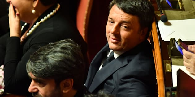 Former Italy's Prime Minister and Democratic Party (PD) secretary Matteo Renzi sits in his place at the Senate during the first session, in Rome on March 23, 2018 after the March 4 vote.   Italy's deadlocked parliament reconvenes on March 23, 2018, with a battle for the positions of speaker in each house laying the ground for a future fight over who will lead a new government.The newly-elected lower house Chamber of Deputies and upper house Senate will begin the process of electing their new speakers after parliament opens.  / AFP PHOTO / Alberto PIZZOLI        (Photo credit should read ALBERTO PIZZOLI/AFP/Getty Images)