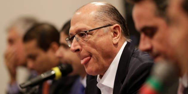 """""""Vamos ter muitas mulheres. Muitas mulheres extremamente preparadas. Serão todas mais do que convidadas, convocadas para trabalhar"""", afirmou Alckmin sobre eventual governo."""