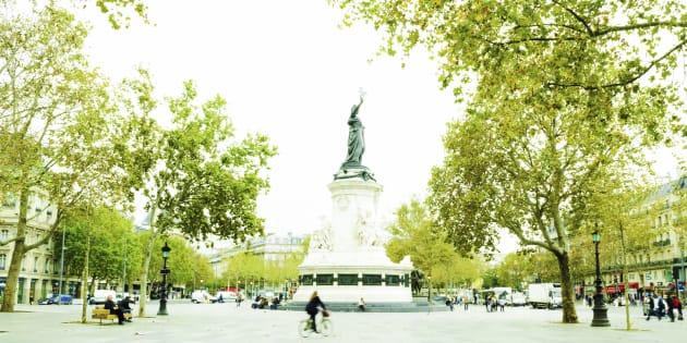 Place de la Republique, Paris.