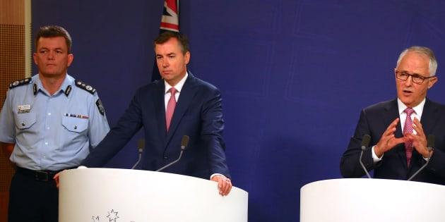 Le Premier ministre australien Malcolm Turnbull des attaques évitées.