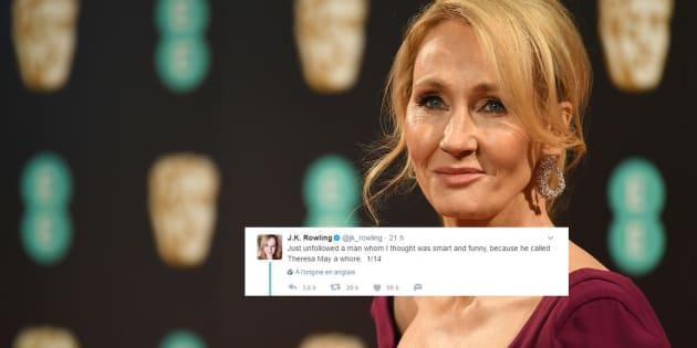 La réponse parfaite de J.K Rowling aux attaques sexistes contre Theresa May