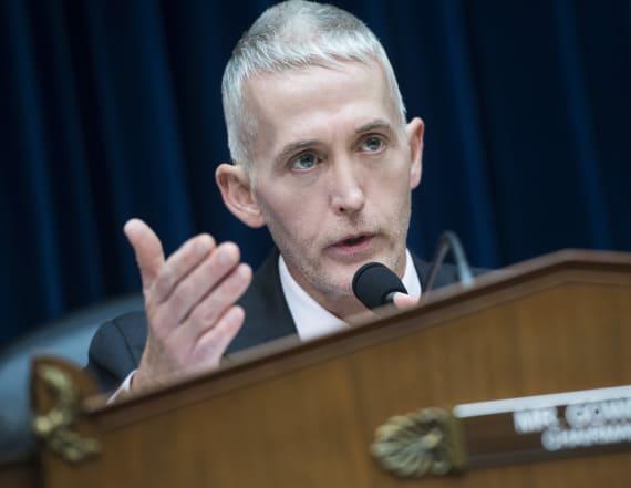 Gowdy threatens DOJ, FBI over Clinton documents