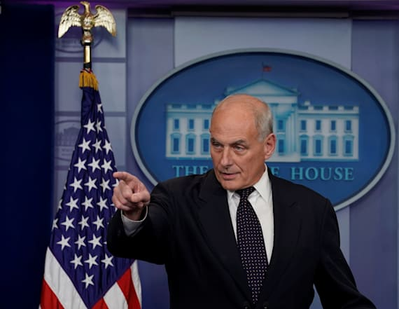 Kelly made one threat to get Trump to listen to him