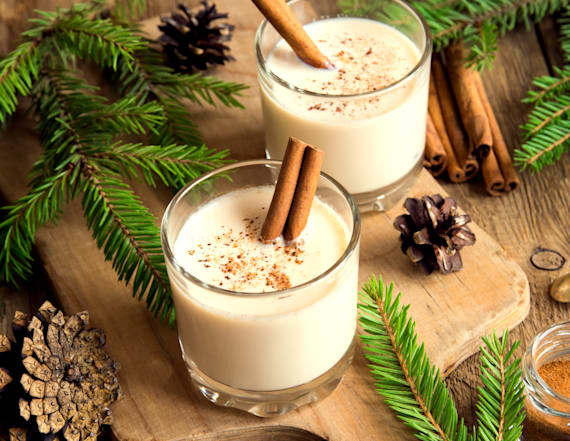 8 eggnog-centric recipes we're making this winter