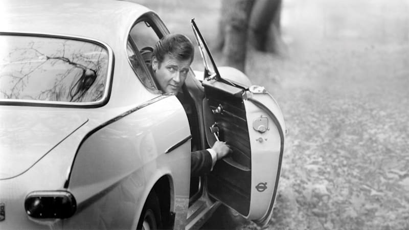 Volvo shows off Roger Moore's saintly Volvo 1800 S
