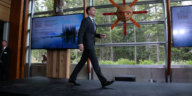 Canada's Minister of Finance Bill Morneau arrives at the G7 Finance Ministers and Central Bank Governors' meeting in Whistler, B.C. on May 31, 2018.