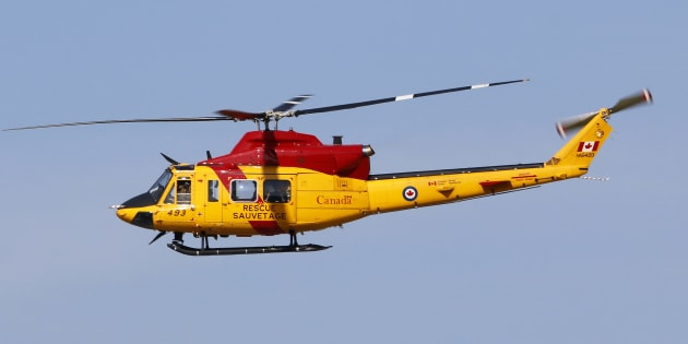 A Royal Canadian Air Force CH-146 Griffon Search & Rescue helicopter at CFB Trenton, Ont. on Oct. 14 2014.