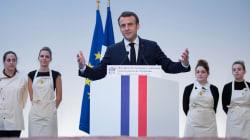 Macron a-t-il vraiment dit