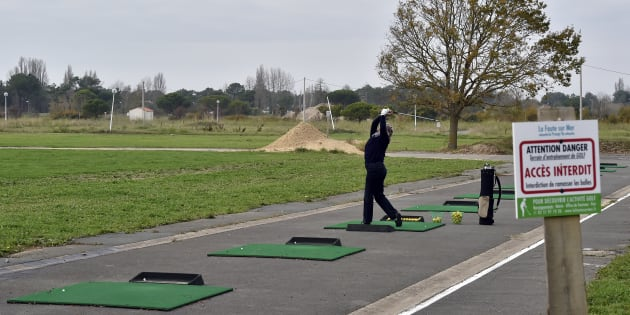 Le practice de La Faute-sur-Mer, inauguré en 2015