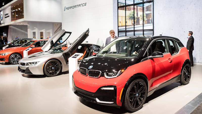 photo image BMW agrees to $4.7 billion contract with China's CATL for battery cells