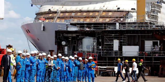 L'État choisit la nationalisation pour les chantiers navals de STX-Saint Nazaire