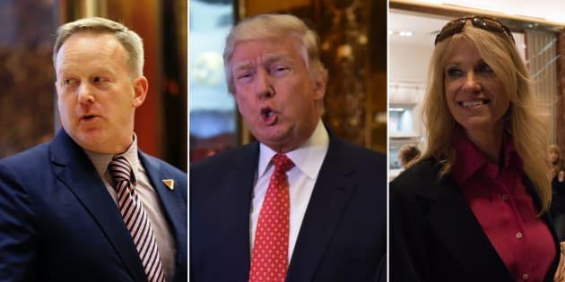 Qui sont Kellyane Conway et Sean Spicer, membres du staff de Donald Trump qui vont vivre l'enfer pendant quatre ans