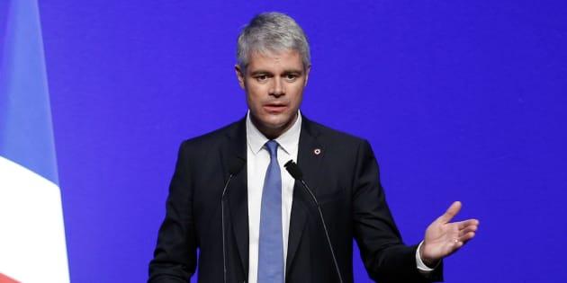 Le président du parti Les Républicains Laurent Wauquiez, par ailleurs président de la région Auvergne-Rhône-Alpes.