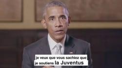 La vidéo de soutien d'Obama à Macron vaut le