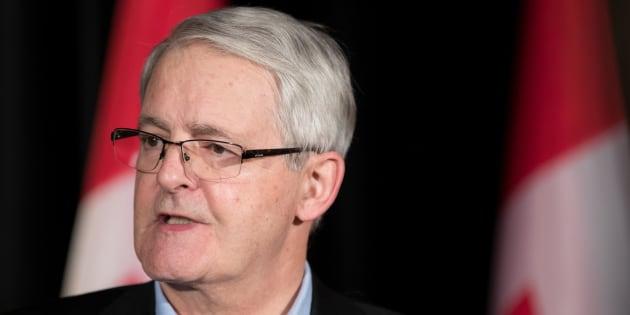 Le ministre canadien des Transports, Marc Garneau.